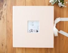 álbum artesanal – newborn elisa | carla d'aqui fotografia
