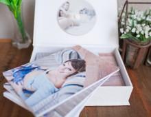 álbum artesanal – gravidez | carla d'aqui fotografia